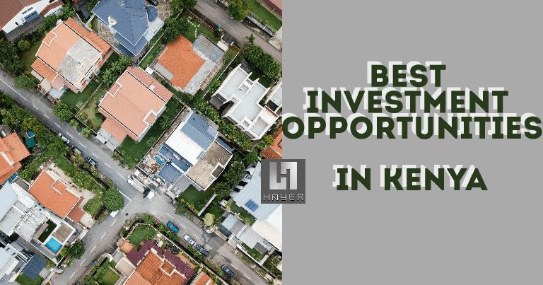 Best Investment Opportunities In Kenya