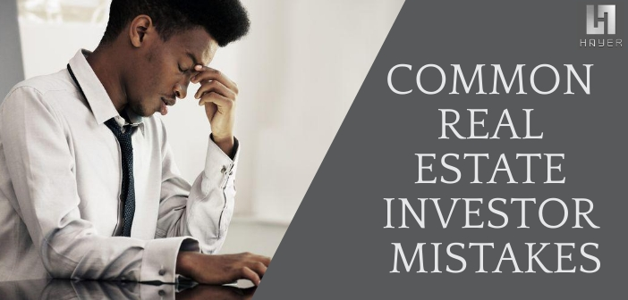 real estate investment mistakes
