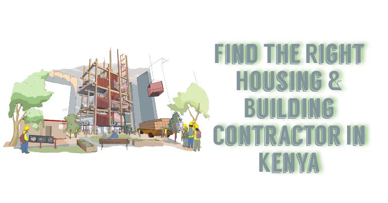 Housing & Building Contractor In Keny